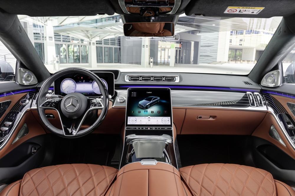 Comfort su nuova Mercedes Classe S