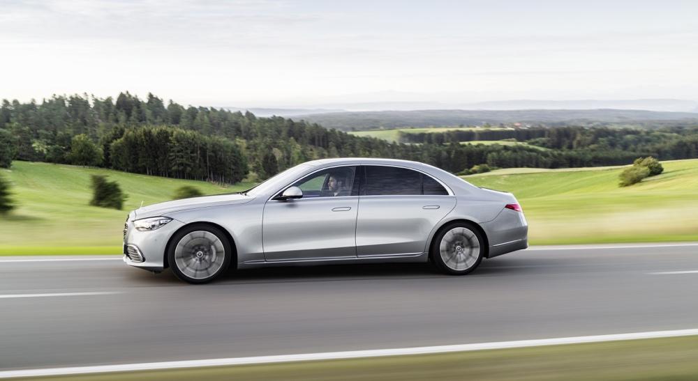 Dimensioni di nuova Mercedes Classe S