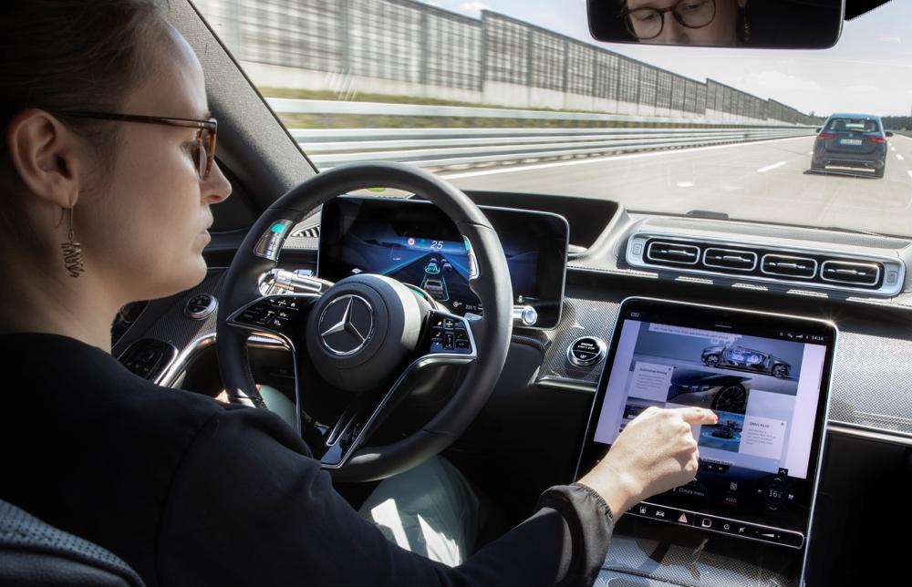 Drive Pilot di nuova Mercedes Classe S