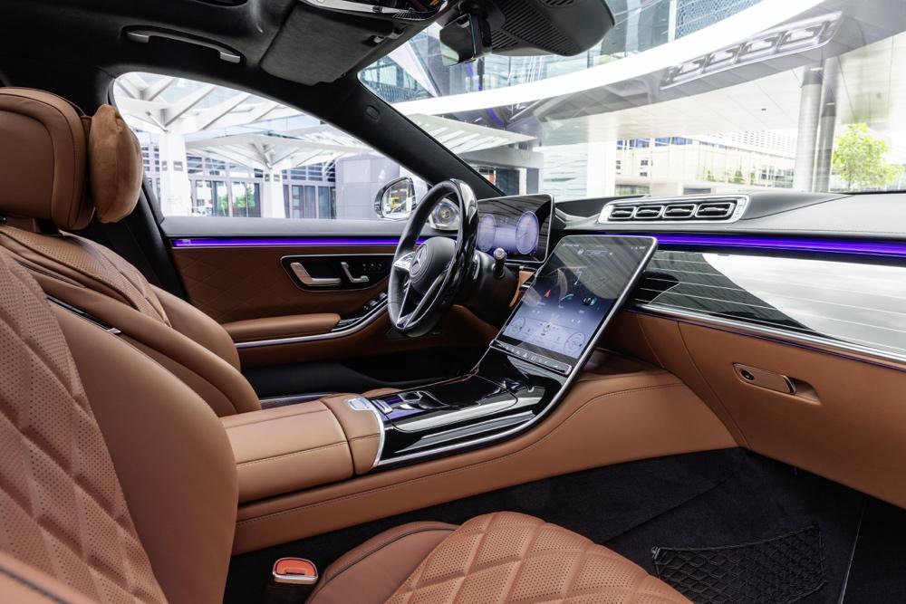 Infotainment di nuova Mercedes Classe S