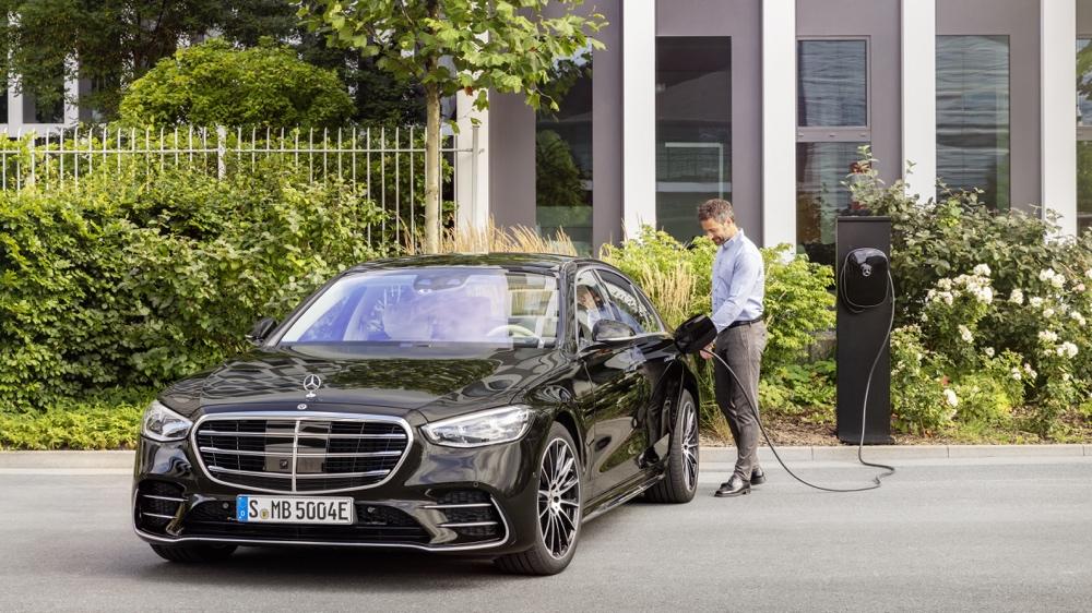 nuova Mercedes Classe S ibrida plug-in