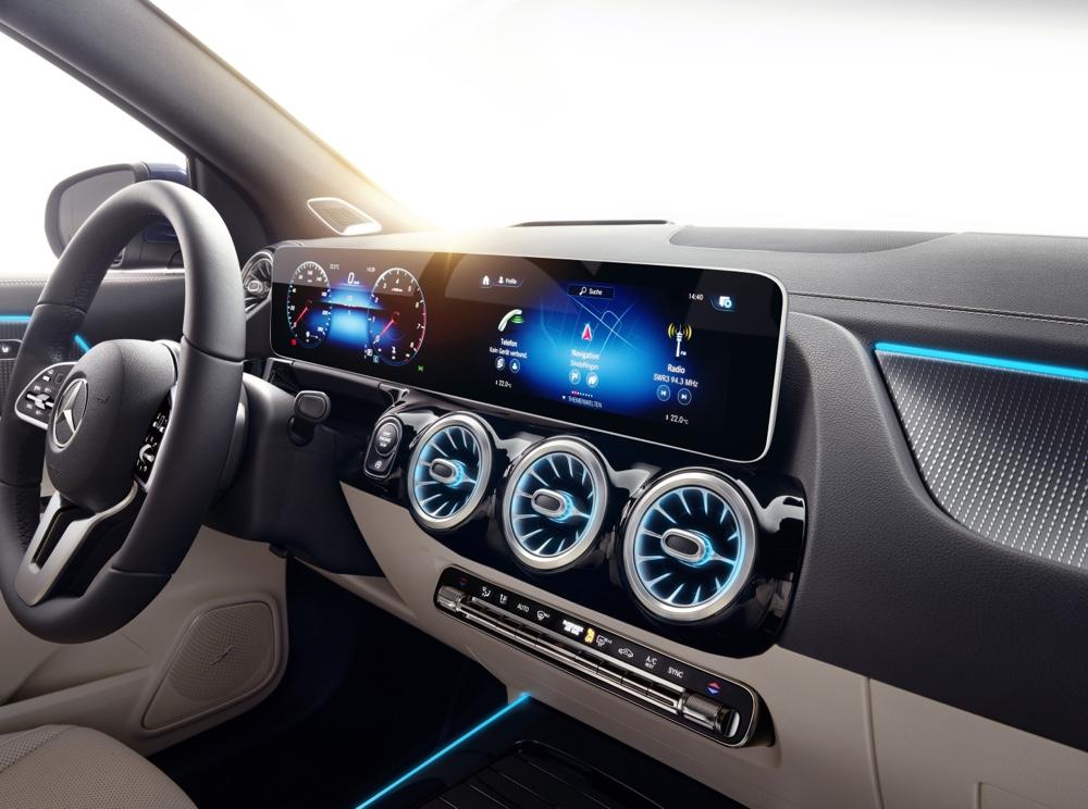 Infotainment Nuova Mercedes GLA