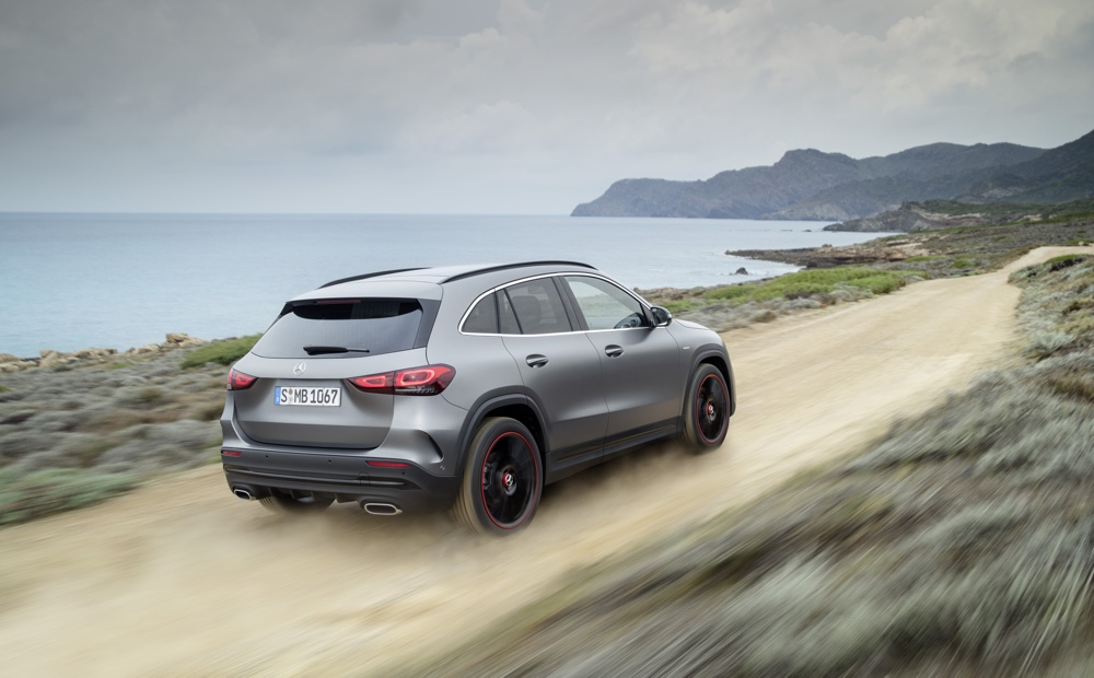 Nuova Mercedes GLA Off Road