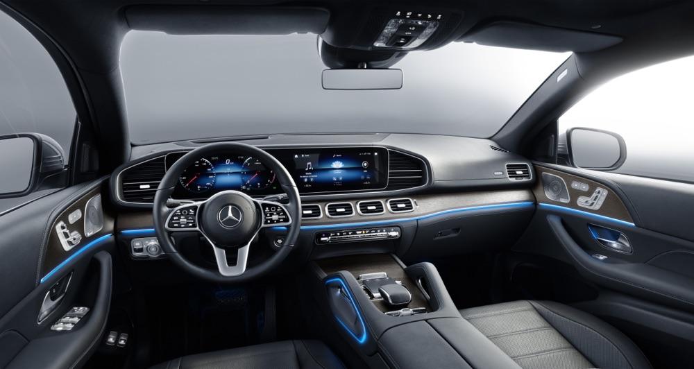 Interni di Mercedes GLE Coupe 2020