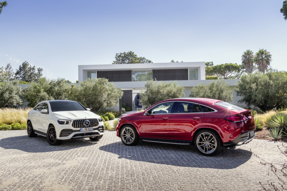 Mercedes GLE Coupe 2020 Airmatic