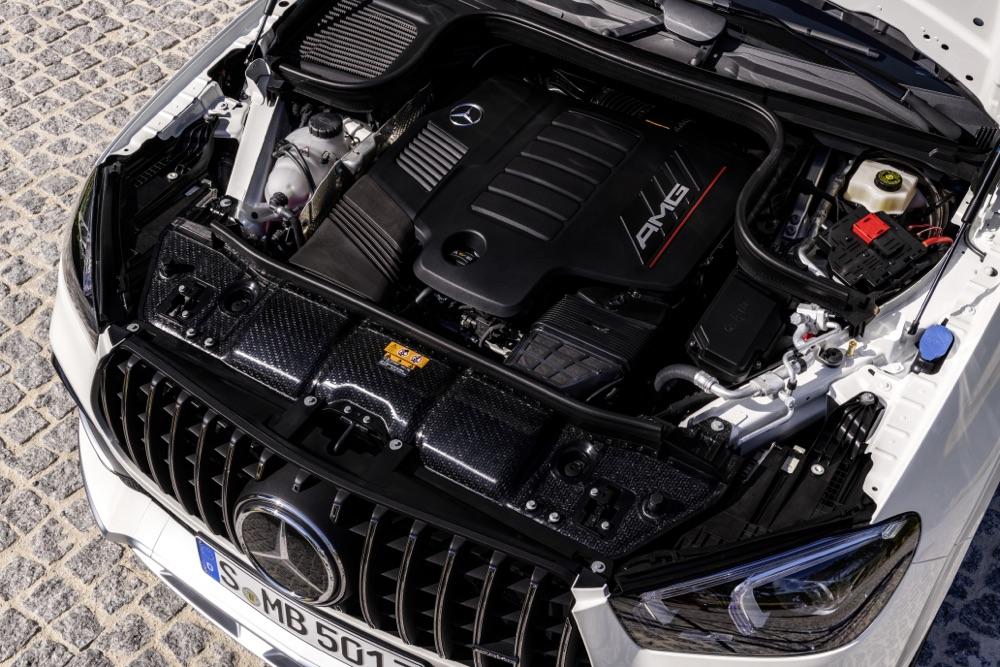 Motore di Mercedes AMG GLE Coupe 2020