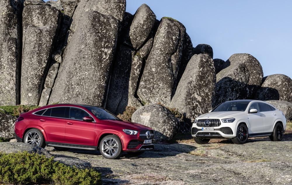 Uscita di Mercedes GLE Coupe 2020
