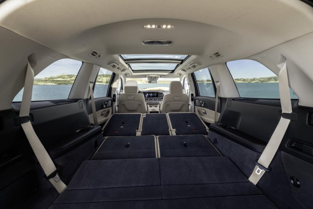 Bagagliaio di Nuova Mercedes GLS