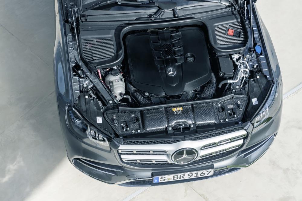 Motori di Nuova Mercedes GLS