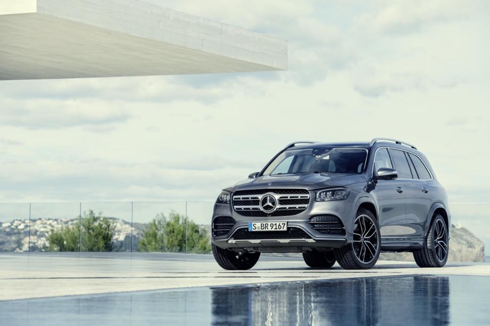 Nuova Mercedes GLS 2020
