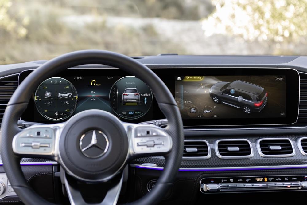 Nuova Mercedes GLS MBUX