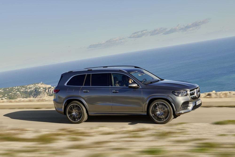 Nuova Mercedes GLS Modo Carwash