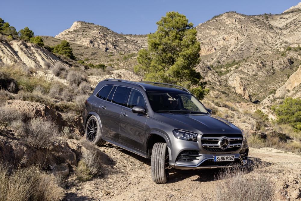 Pacchetto Off-Road di Nuova Mercedes GLS