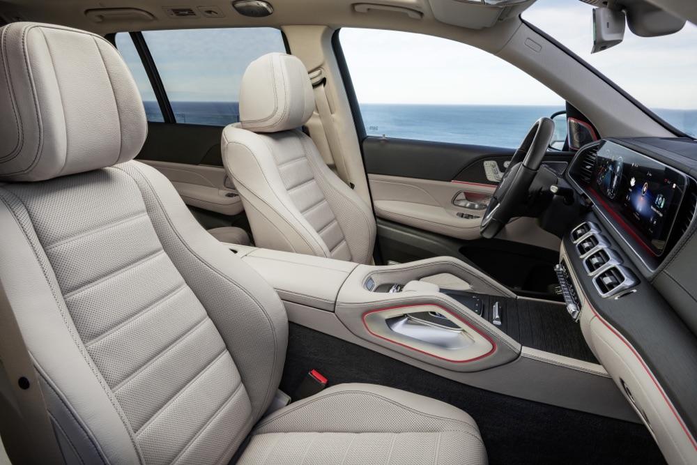 Sedili di Nuova Mercedes GLS