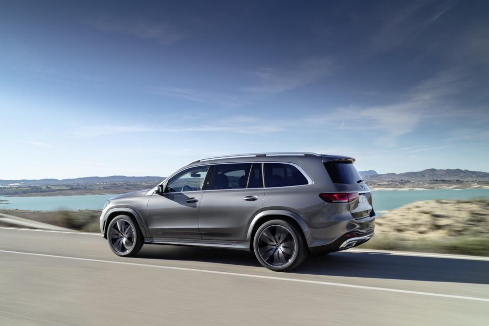 Sospensioni Airmatic di Nuova Mercedes GLS