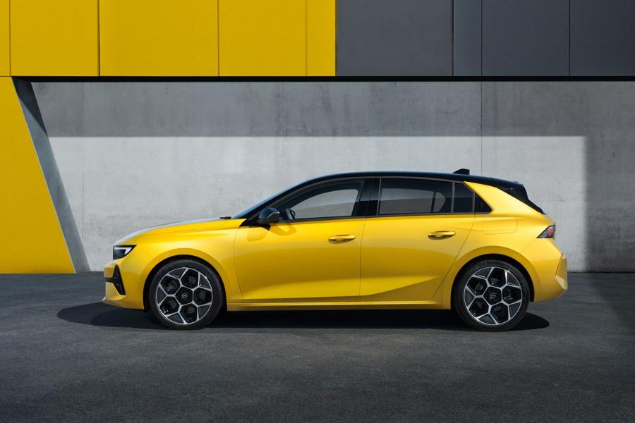 Nuova Opel Astra dimensioni
