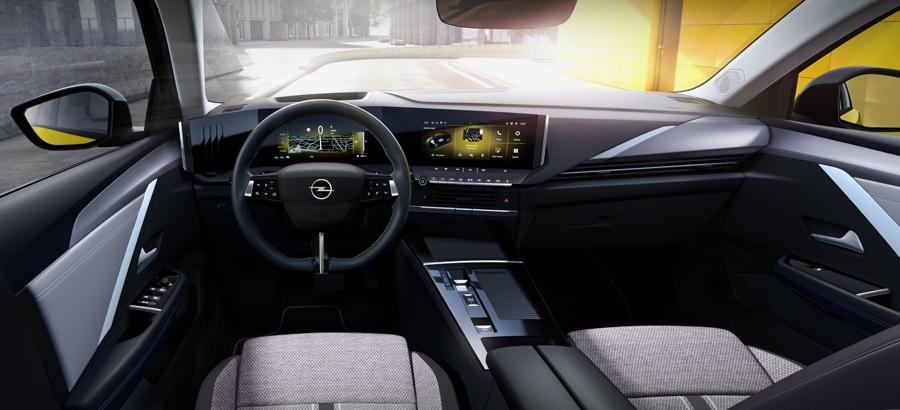 Nuova Opel Astra infotainment