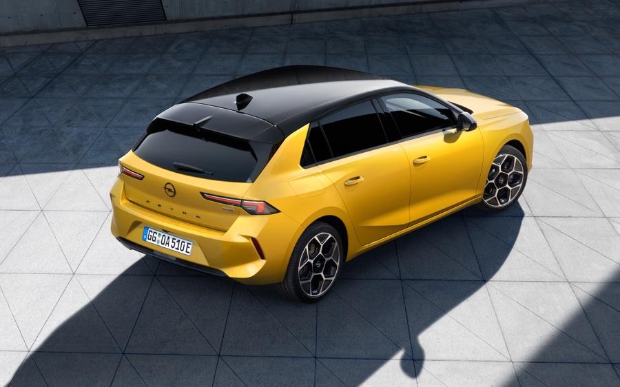 Nuova Opel Astra motori