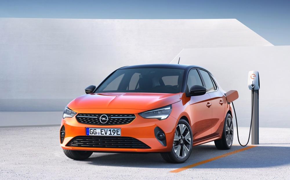 Caratteristiche di Nuova Opel Corsa elettrica