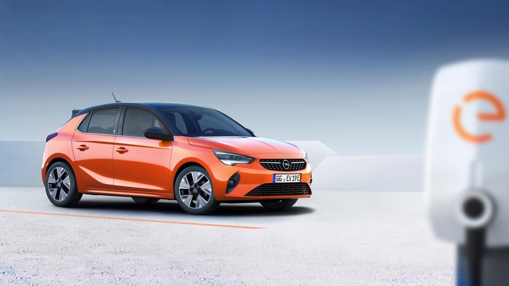 Design di Nuova Opel Corsa elettrica