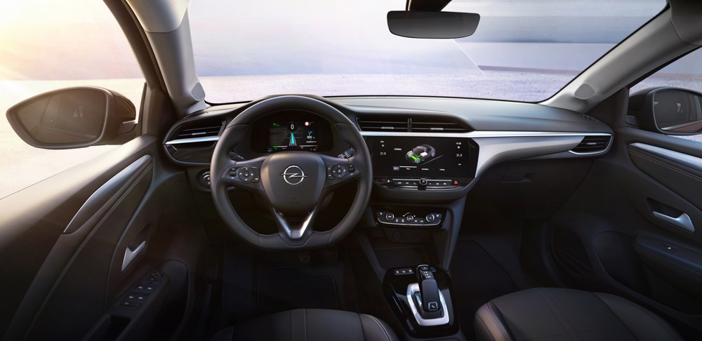 Infotainment di Nuova Opel Corsa