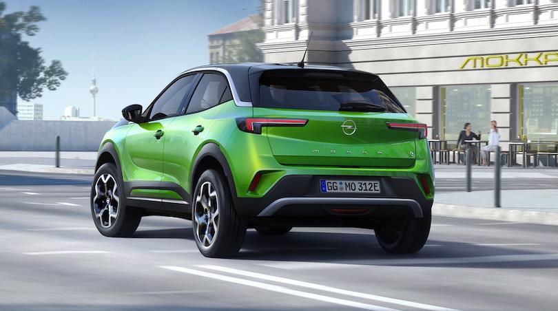 Caratteristiche Opel Mokka 2021