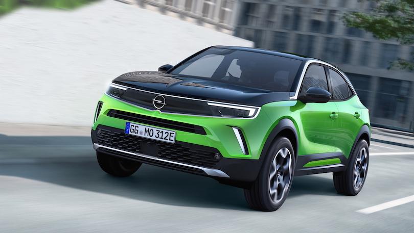 Dimensioni di nuova Opel Mokka