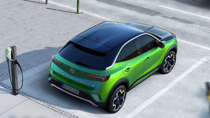 Ricarica di Opel Mokka