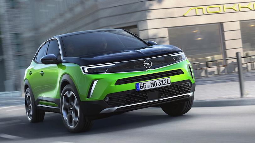 Uscita di Opel Mokka