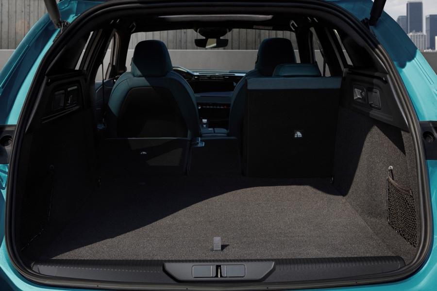 Bagagliaio di Peugeot 308 SW 2021