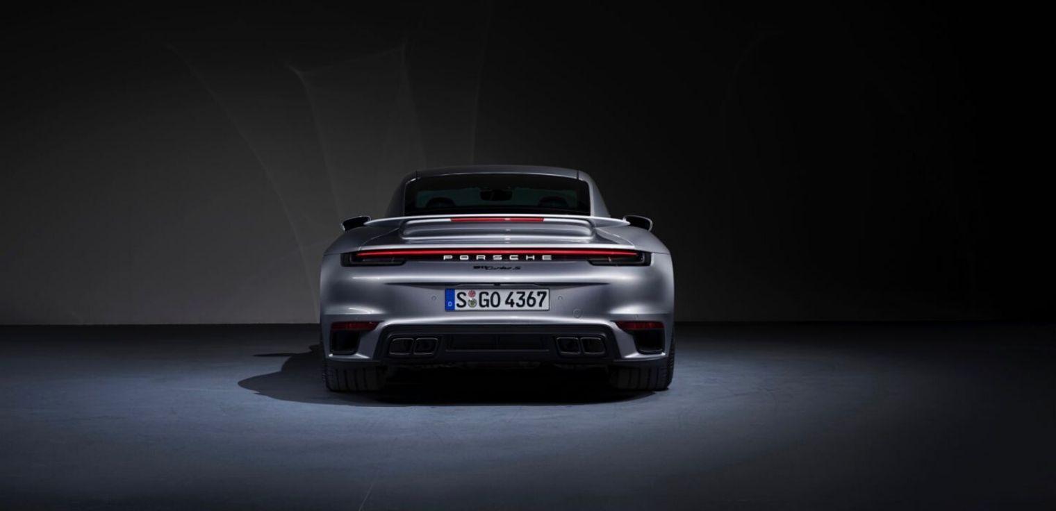 Nuova Porsche 911 Turbo S 2020
