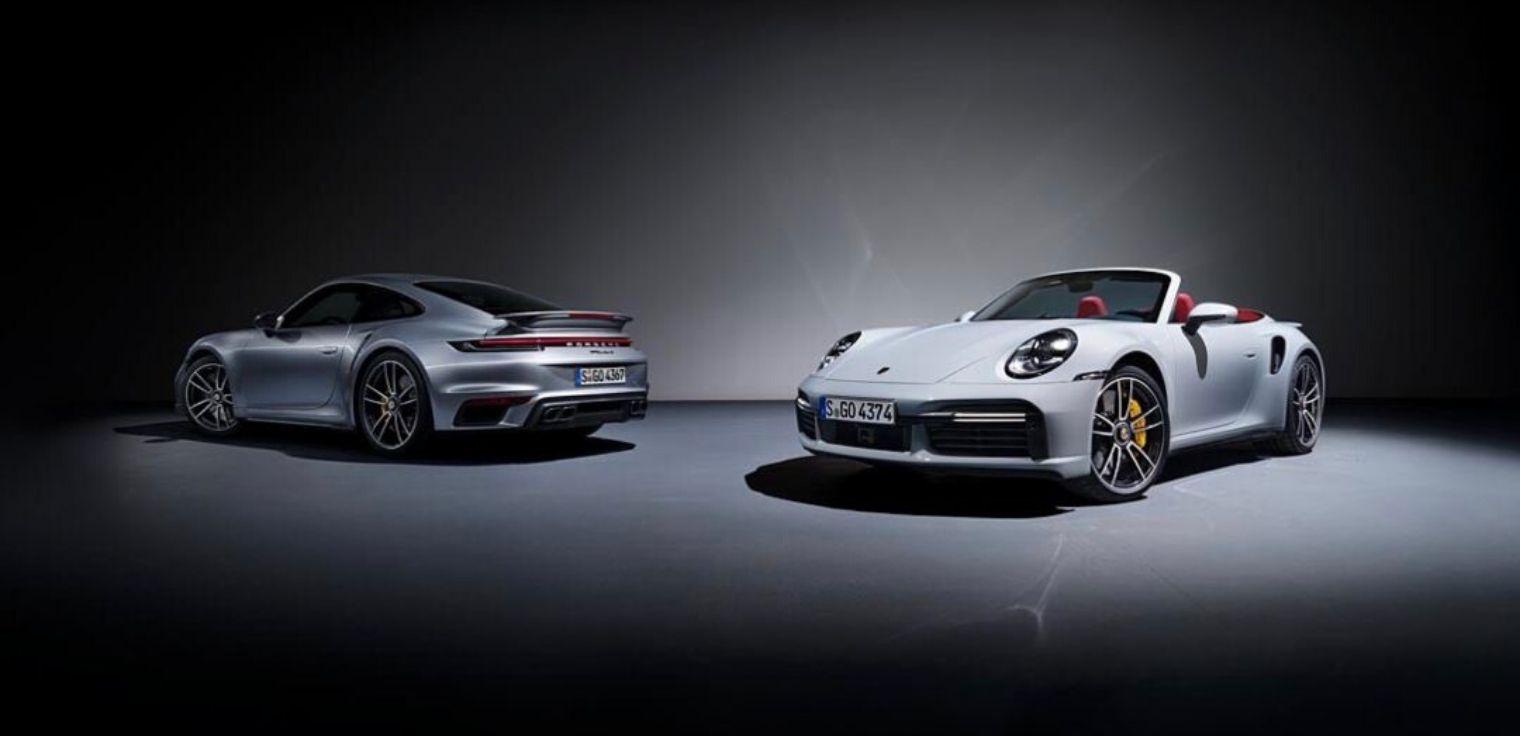 Nuova Porsche 911 Turbo S gamma