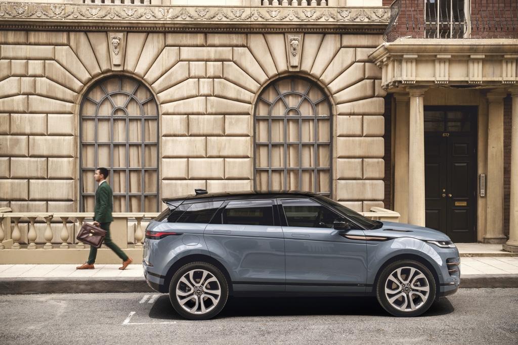 Architettura Range Rover Evoque 2019