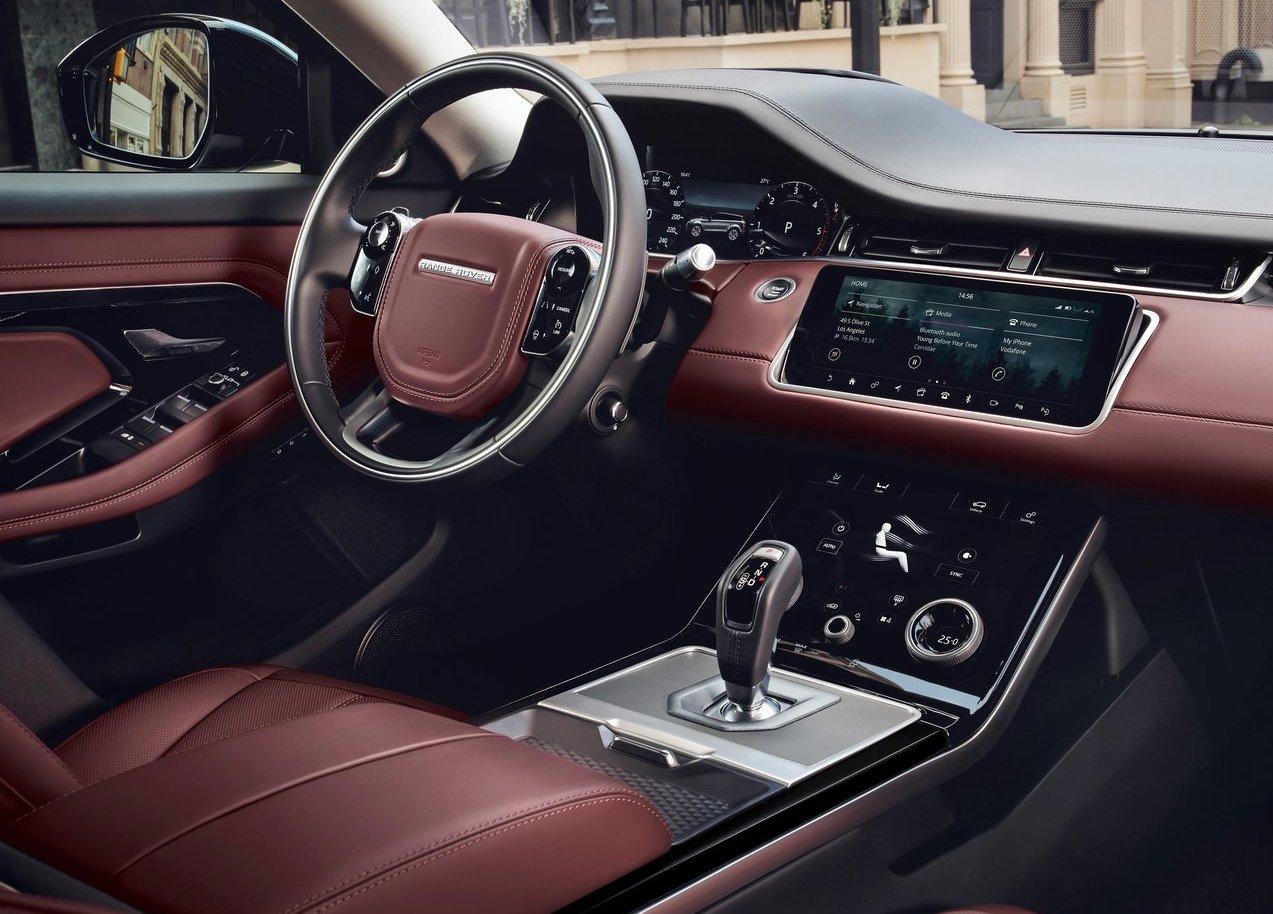 Interni di Range Rover Evoque 2019
