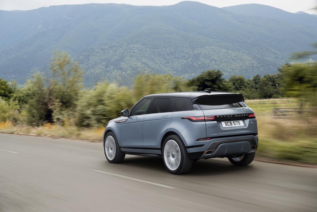 Mild Hybrid su Range Rover Evoque