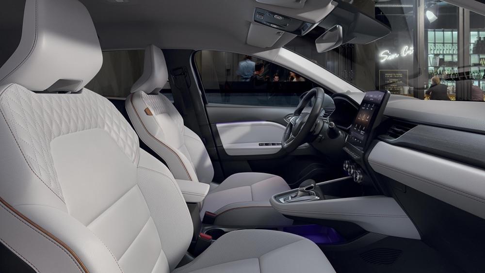 Interni di nuova Renault Captur Initiale