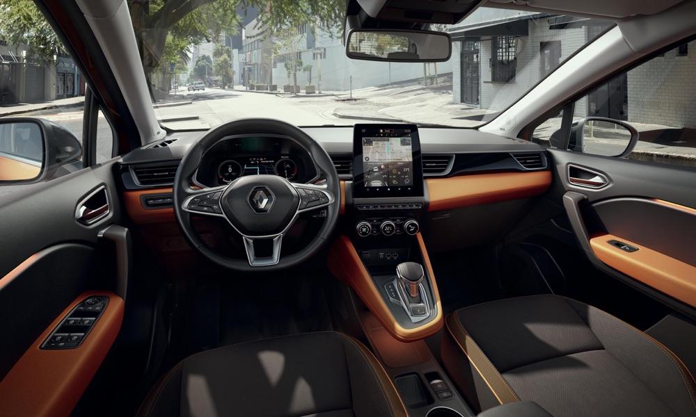 Interni di nuova Renault Captur