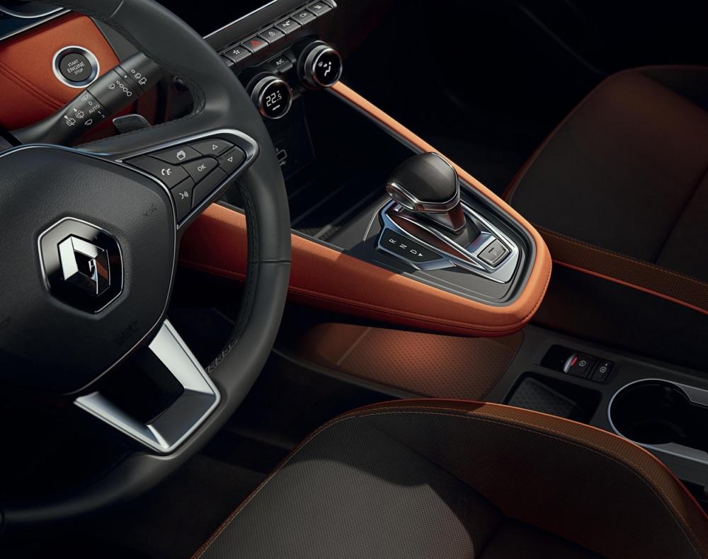 nuova Renault Captur cambio EDC 7