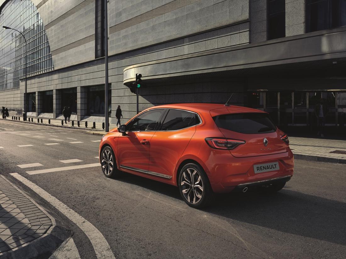 Caratteristiche di nuova Renault Clio