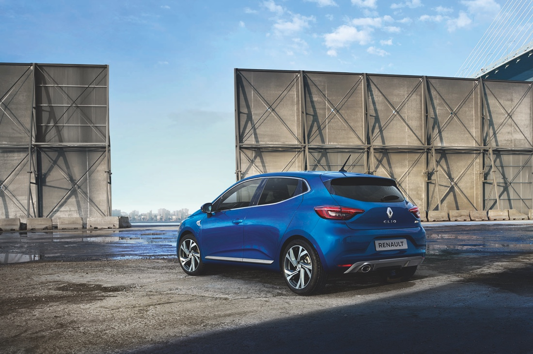 Dimensioni di nuova Renault Clio