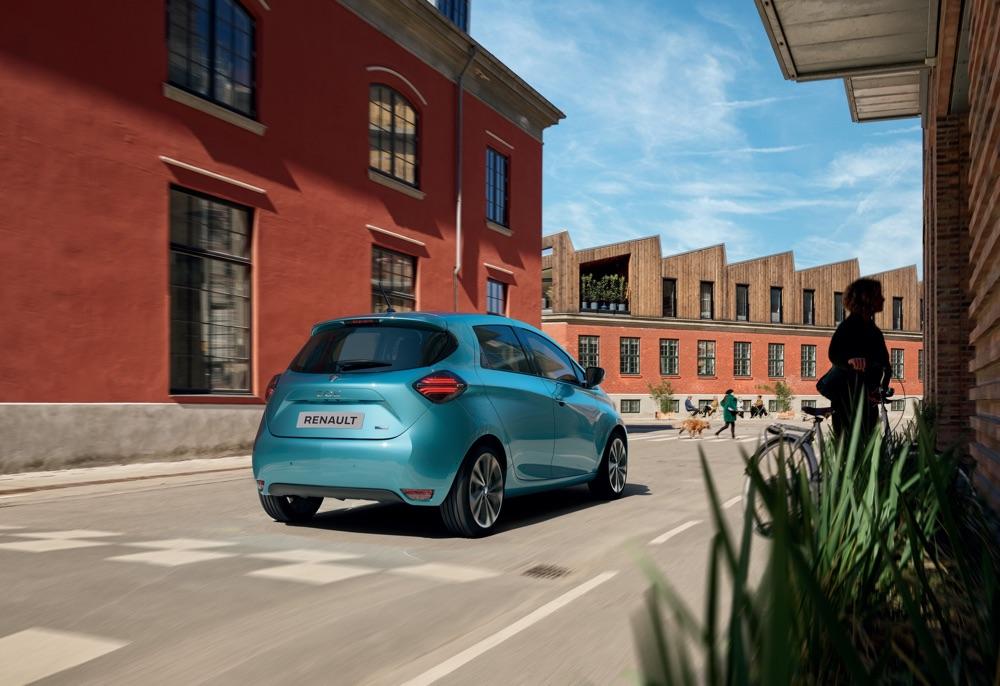 Autonomia di Nuova Renault Zoe