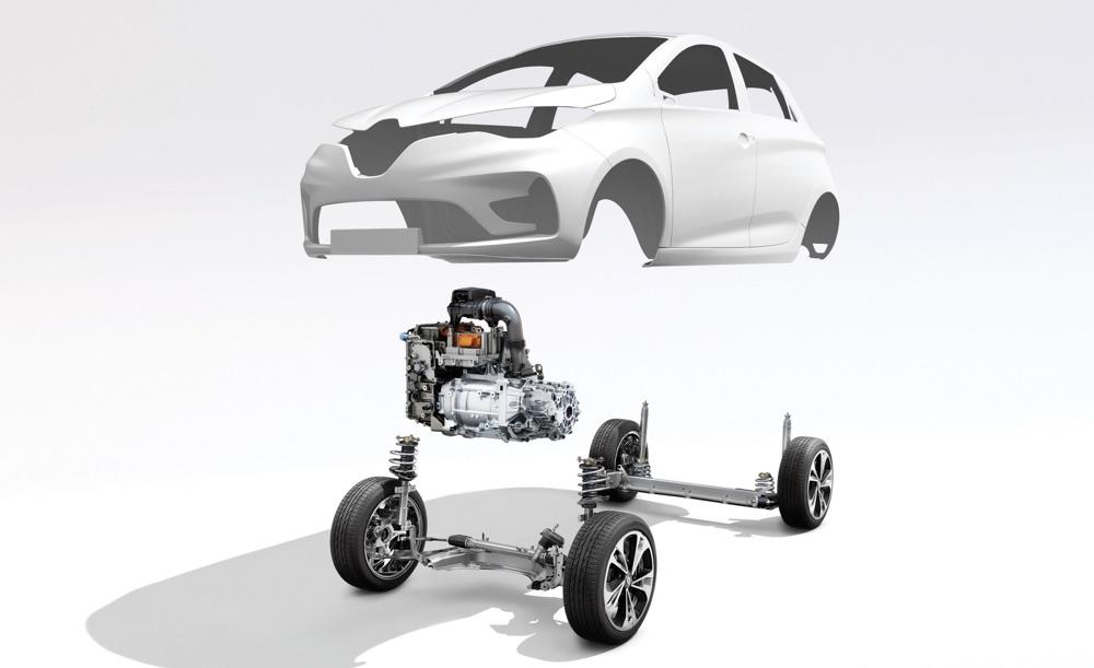 Caratteristiche di Nuova Renault Zoe