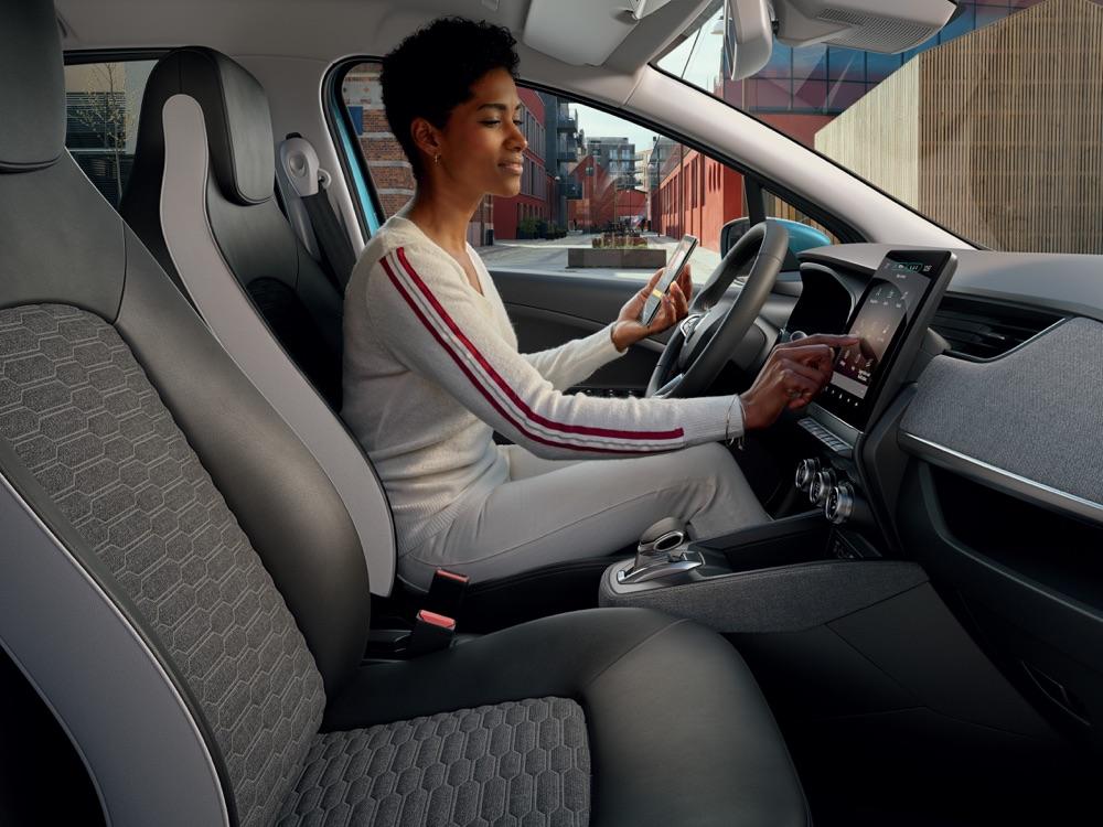 Infotainment di Nuova Renault Zoe