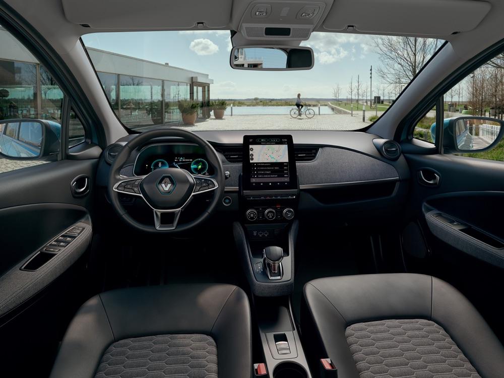 Interni di Nuova Renault Zoe