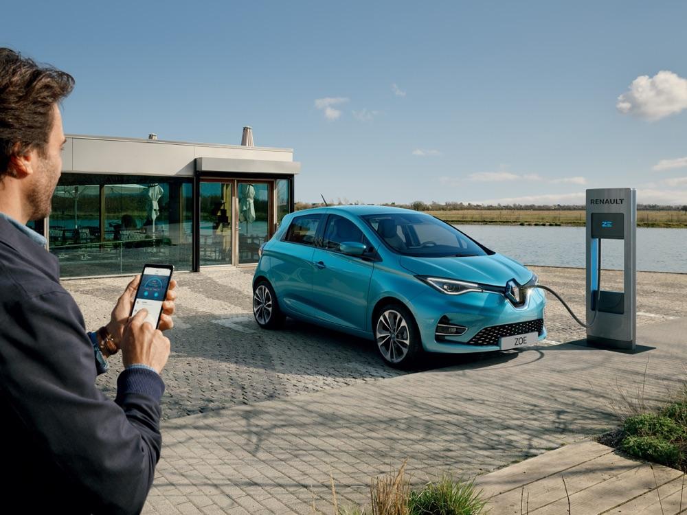 Ricarica di Nuova Renault Zoe