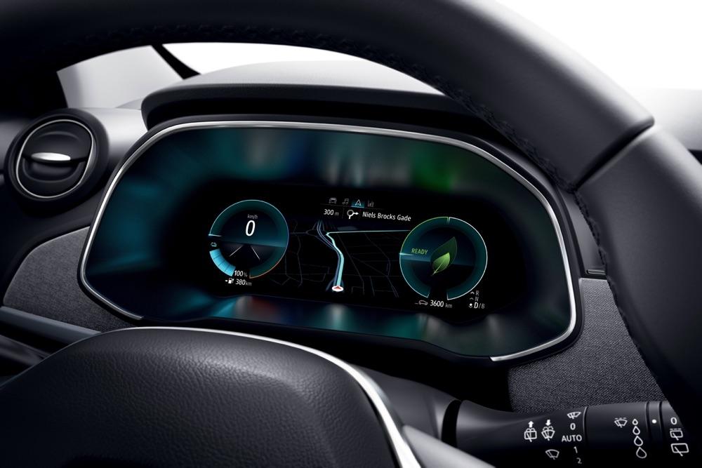 Strumentazione di Nuova Renault Zoe