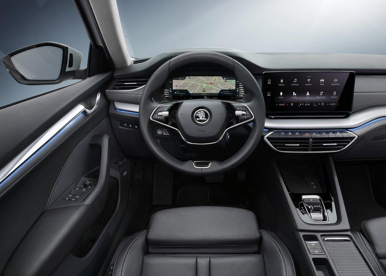 Infotainment di Nuova Skoda Octavia wagon 2020