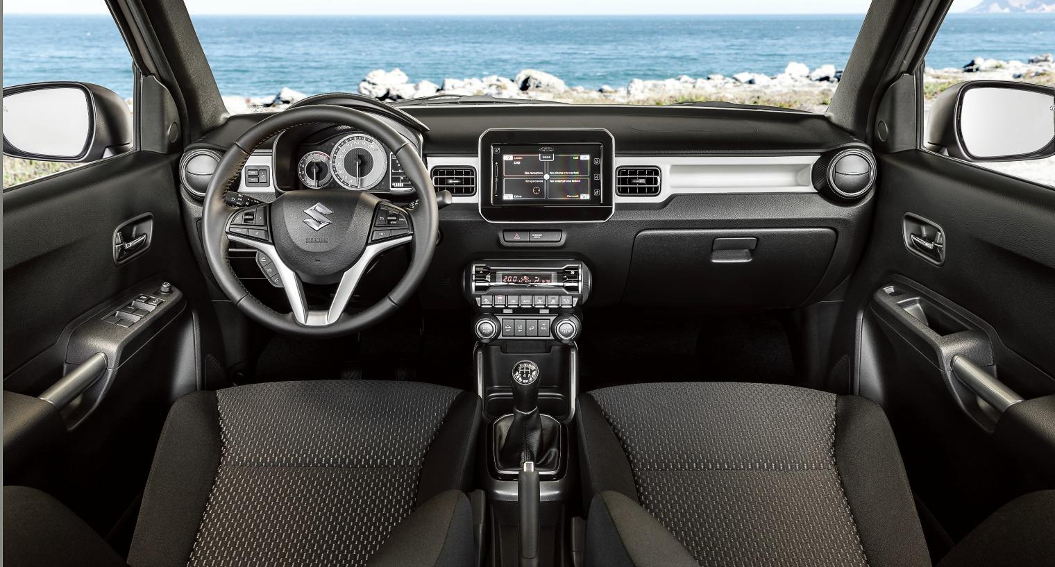 Interni nuova Suzuki Ignis Hybrid