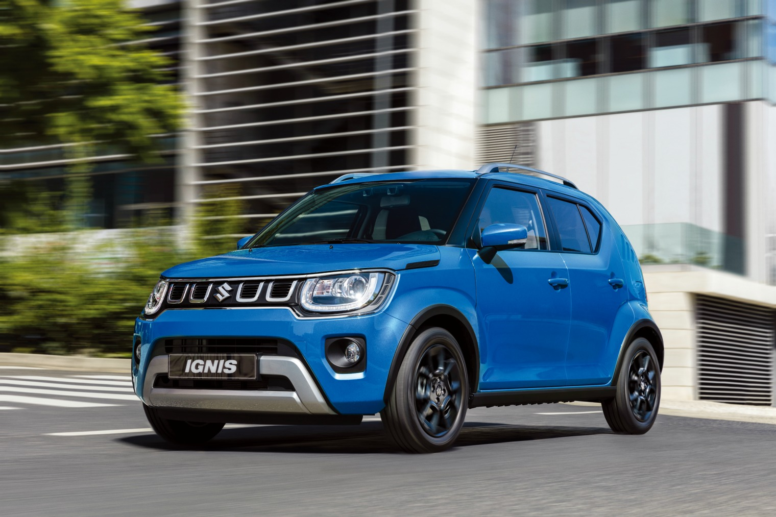 Nuova Suzuki Ignis design
