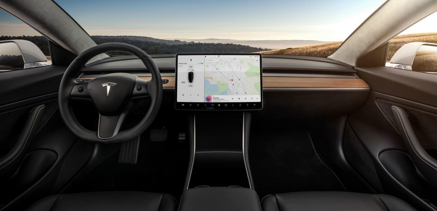 Tecnologia nuova Tesla Model 3